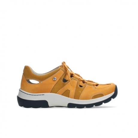 wolky lace up shoes 03028 nortec 11550 orange ochre nubuck