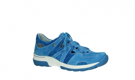 wolky lace up shoes 03028 nortec 11865 royal blue nubuck_3