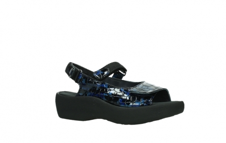 wolky sandalen 03204 jewel 69800 blue croco patent leather_3