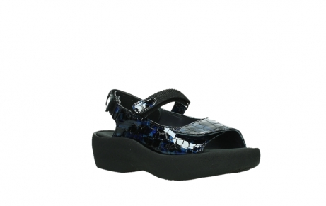 wolky sandalen 03204 jewel 69800 blue croco patent leather_4