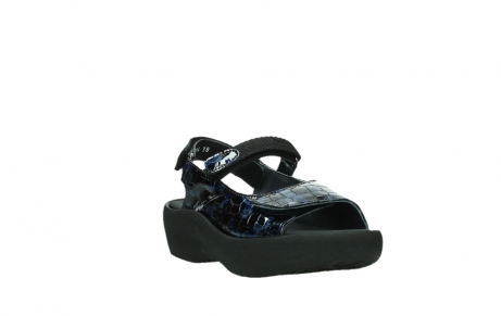 wolky sandalen 03204 jewel 69800 blue croco patent leather_5
