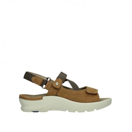 wolky sandalen 03925 lisse 11410 tobacco nubuck