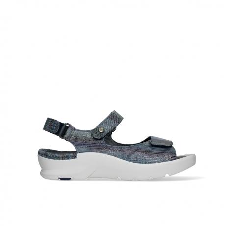 wolky sandalen 03927 delft 43984 multi jeans suede