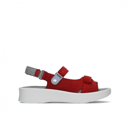 wolky sandalen 05350 globe 13500 red lightly greased nubuck