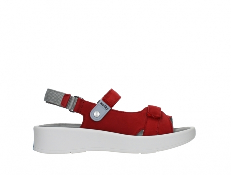 wolky sandalen 05350 globe 13500 red lightly greased nubuck_1