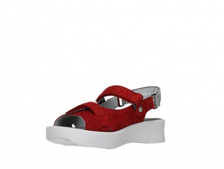 wolky sandalen 05350 globe 13500 red lightly greased nubuck_10
