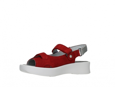 wolky sandalen 05350 globe 13500 red lightly greased nubuck_11