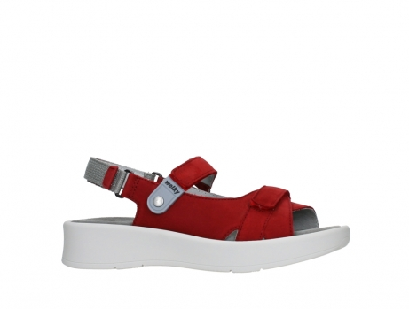 wolky sandalen 05350 globe 13500 red lightly greased nubuck_2