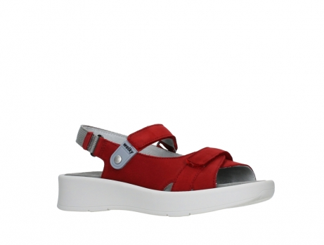 wolky sandalen 05350 globe 13500 red lightly greased nubuck_3