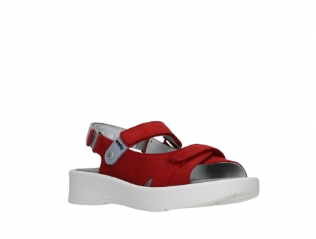wolky sandalen 05350 globe 13500 red lightly greased nubuck_4