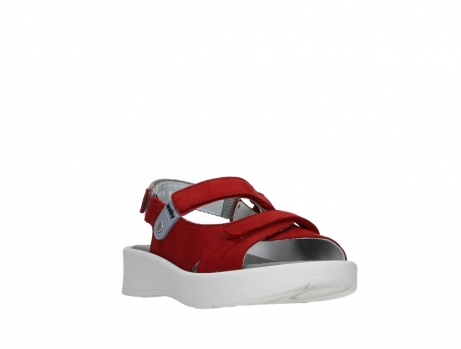 wolky sandalen 05350 globe 13500 red lightly greased nubuck_5