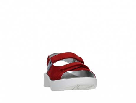 wolky sandalen 05350 globe 13500 red lightly greased nubuck_6