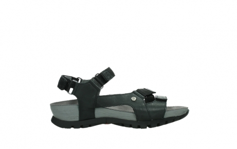 wolky sandalen 05450 cradle 30000 black leather_1