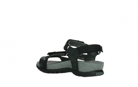 wolky sandalen 05450 cradle 30000 black leather_16