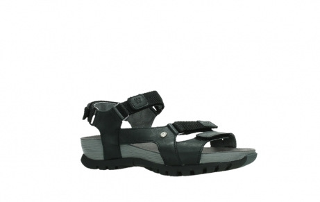wolky sandalen 05450 cradle 30000 black leather_3