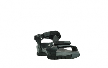 wolky sandalen 05450 cradle 30000 black leather_5