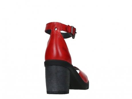wolky sandalen 07426 jam 20500 red leather_20