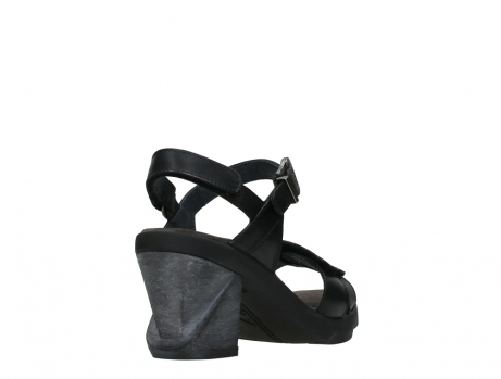 wolky sandalen 07428 cross 20000 black leather_21