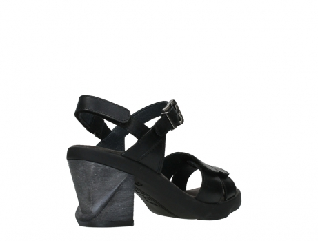 wolky sandalen 07428 cross 20000 black leather_22