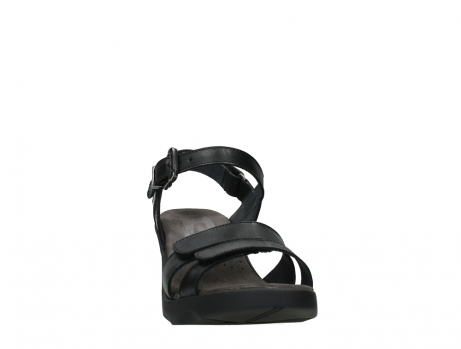 wolky sandalen 07428 cross 20000 black leather_6