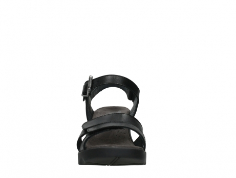 wolky sandalen 07428 cross 20000 black leather_7