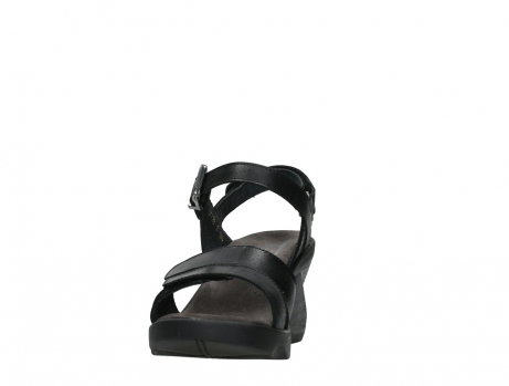 wolky sandalen 07428 cross 20000 black leather_8