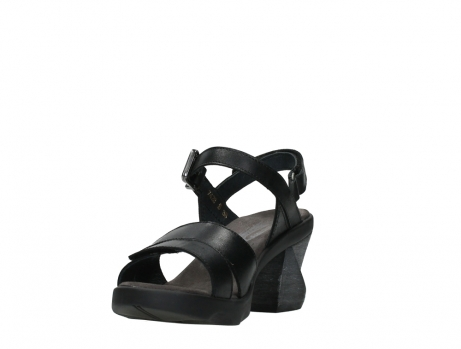 wolky sandalen 07428 cross 20000 black leather_9