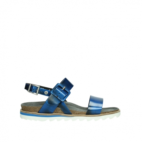 wolky sandalen 08225 minori 30865 blue leather