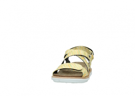 wolky sandalen 08480 sunstone 94907 yellow green leather_20