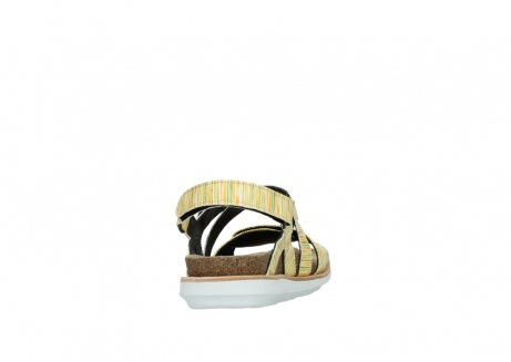 wolky sandalen 08480 sunstone 94907 yellow green leather_8