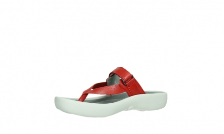 wolky slippers 00821 peace 87500 red pearl leather_11