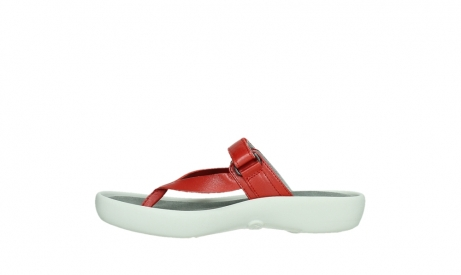 wolky slippers 00821 peace 87500 red pearl leather_13