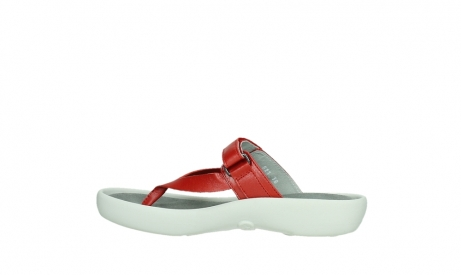 wolky slippers 00821 peace 87500 red pearl leather_14
