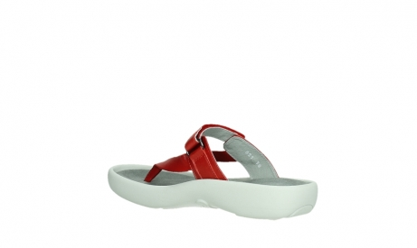 wolky slippers 00821 peace 87500 red pearl leather_16