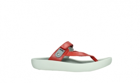wolky slippers 00821 peace 87500 red pearl leather_2