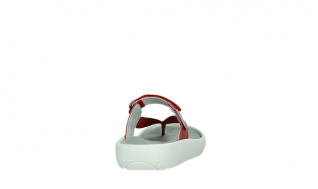 wolky slippers 00821 peace 87500 red pearl leather_20