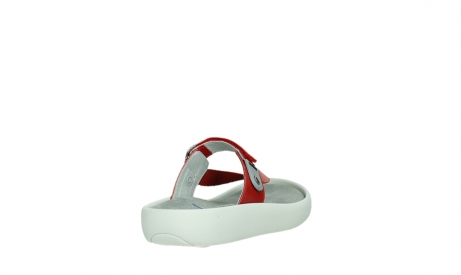 wolky slippers 00821 peace 87500 red pearl leather_21
