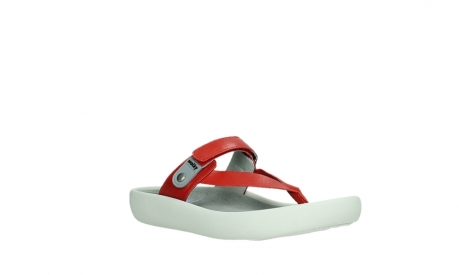 wolky slippers 00821 peace 87500 red pearl leather_4