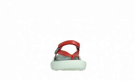 wolky slippers 00821 peace 87500 red pearl leather_7