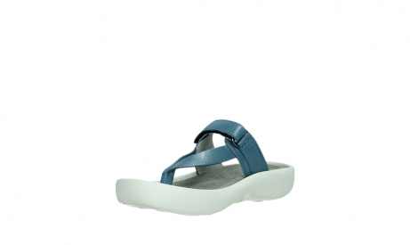 wolky slippers 00821 peace 87860 steel blue pearl leather_10