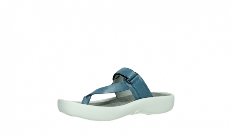 wolky slippers 00821 peace 87860 steel blue pearl leather_11