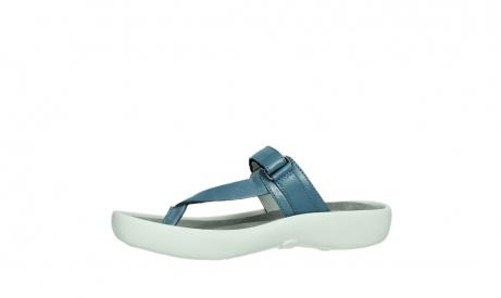 wolky slippers 00821 peace 87860 steel blue pearl leather_12