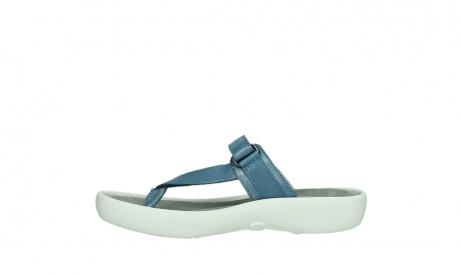 wolky slippers 00821 peace 87860 steel blue pearl leather_13
