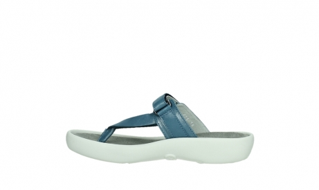 wolky slippers 00821 peace 87860 steel blue pearl leather_14