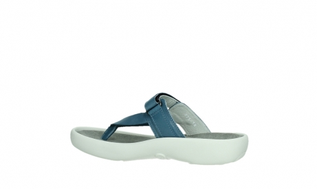 wolky slippers 00821 peace 87860 steel blue pearl leather_15