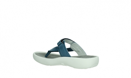wolky slippers 00821 peace 87860 steel blue pearl leather_16