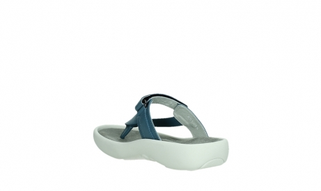 wolky slippers 00821 peace 87860 steel blue pearl leather_17