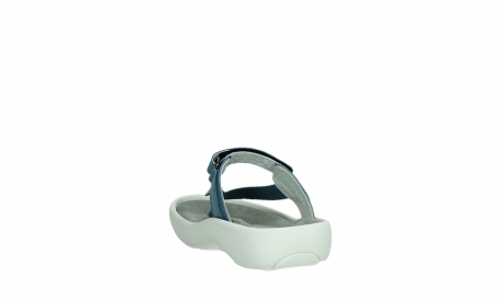 wolky slippers 00821 peace 87860 steel blue pearl leather_18