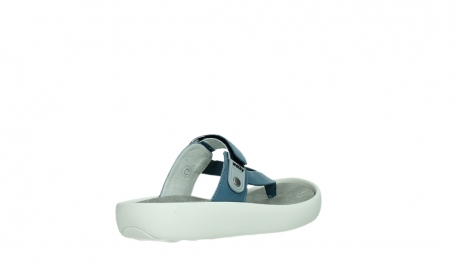 wolky slippers 00821 peace 87860 steel blue pearl leather_22
