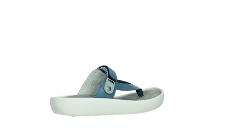 wolky slippers 00821 peace 87860 steel blue pearl leather_23